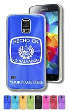 Personalized Case For Galaxy S5, S6, S6 Edge - HECHO EN EL SALVADOR