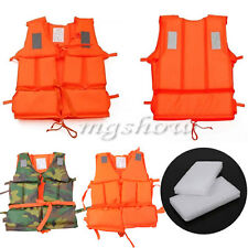 Kayak Safety Foam Swimming Buoyancy Aid Kayak Sailing Life Jacket Vest + Whistle