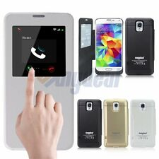 4800MAH Backup Battery Charger Case Cover Power Bank for Samsung Galaxy S4 S5 IV