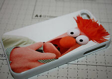 Custom The muppets beaker meep apple iphone 4 4s 5 5s Back case cover clip on