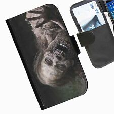 The Walking Dead Leather wallet personalised phone case for Samsung Galaxy Grand