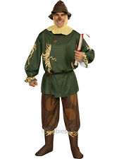 Adult Wizard of Oz Scarecrow Outfit Fancy Dress Costume Mens Gents Male