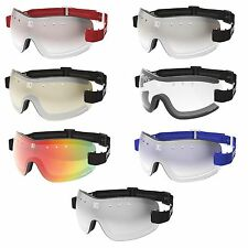 NEW- KROOPS 13-FIVE Horse Riding Racing Jockey Goggles | Mirrored Lens