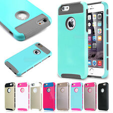 PC Shockproof Dirt Dust Proof Hard Matte Cover Case For iPhone 4S 5S 5C 6 6Plus