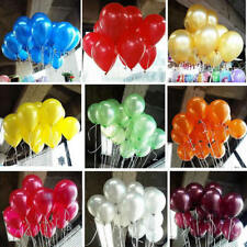 Hot 100pcs 10''  Colorful Pearl Latex Balloon Celebration Party Wedding Birthday