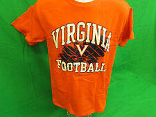 University of Virginia Cavaliers UVA orange Adult T-shirt  Size Small