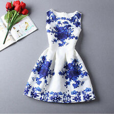 New Fashion summer dresses for women vestidos de festa white sleeveless dress