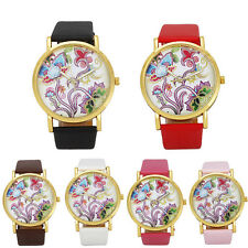 Unique National Wind Leather Band Analog Quartz Vogue Wrist Watches hot gift new