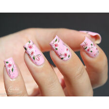 1Sheet Small Flowers Design G065/Y062 Nail Art Water Transfers Decals Stickers
