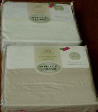 Whole Home 350 Thread Count Egyptian Cotton Full Size Sheet Set - BRAND NEW