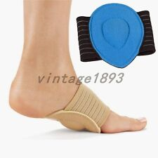 Foot Heel Pain Relief Shoes Insert Plantar Insole Pads Arch Support Fasciitis