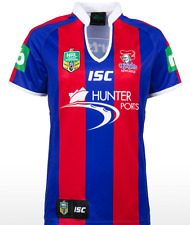 Newcastle Knights ISC 2014 NRL Ladies/Women Home Jersey Size 8-18! BNWT's!