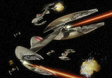 WALL MURALS WALLPAPER DECORATIONS NON WOVEN STAR WARS BATTLE IN SPACE 1678VE