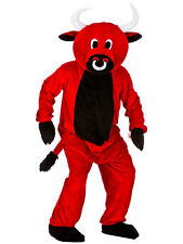 Adults Red Bull Fancy Dress Up Party Halloween Charity Animal Mascot Costume New