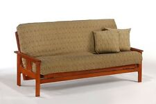 Futon Frame- Solid Wood MONTEREY Futon Sofa Bed Frame- FULL or QUEEN size