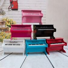 Kids Children Mini Wood Piano Musical Instrument 25 Key Play Toy Gift Black/Red