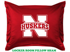 NEBRASKA CORNHUSKERS PILLOW SHAM