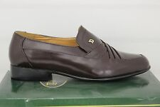 Men's D'Italo By Globe Brown Leather Dress Shoes 6095 Brand New In Box
