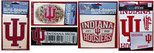 IU Hoosiers Indiana NCAA College Assorted Decal Stickers  SHIPS FREE