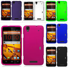 For ZTE Boost Max Max+ N9520 Rubberized Hard Matte Case Snap On Cover Accessory