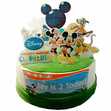 Mickey Mouse Clubhouse Comestibles De Oblea Pastel Escena 3d Personalizadas (color Disponible