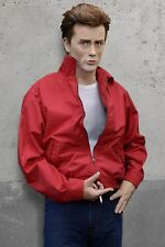 Screen Accurate REBEL WITHOUT A CAUSE red nylon jacket, James Dean, Antifreeze