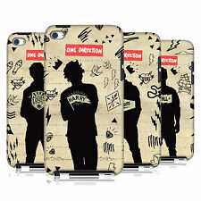 OFFICIAL 1D SILHOUETTES HARD BACK CASE FOR APPLE iPOD TOUCH 4G 4TH GEN