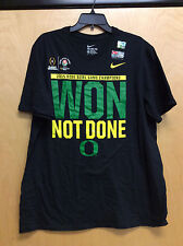 Oregon Ducks Won Not Done 2015 Rose Bowl Champions Nike  T-shirt (h13H)