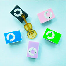 Mini 5 Colors Support Up To 8GB Clip USB MP3 Player Micro SD TF Memory Card v2