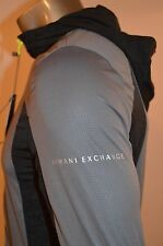 New Armani Exchange AX Mens Slim/Muscle Fit Mixed Tech Jacket Size S Small