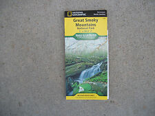 National Geographic Great Smoky Mtns NP Trails Illustrated Topo Map - TN/NC