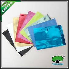 200PCS + Size 7x10cm Colors Foil Bags  Food Storage Bags Wholesale Free Shipping