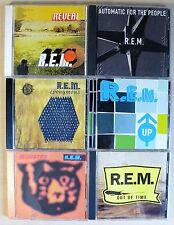 Lot of 6 R.E.M. CDs Monster UP Eponymous REVEAL Out of Time AUTOMATIC 4 PEOPLE