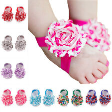 Baby Barefoot Flower Toddler Girl Foot Socks Infant cute Cotton Foot Flower 2015