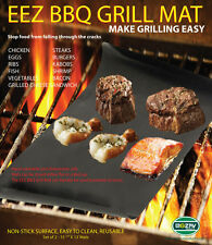 Set of 2, 4, 6 BBQ GRILL MATS As seen on TV oven mats ship from US to PR