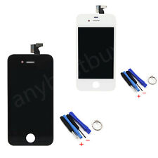 LCD Digitizer Touch Screen Assembly Replacement For iPhone 4S GSM AT&T + Tools