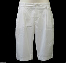 women's Short Shorts from Stefanel in white Trousers Bermuda Shorts Pant