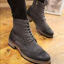Mens Short Style Boots British New Wholesale Street Casual Shoes Leather Fashion