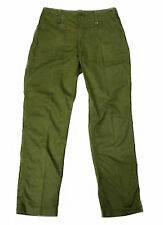 Mil Com British Army Lightweight Trousers Green Military Combat Cargo Work Pants