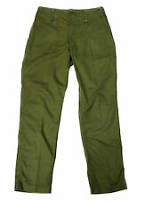 Mil Com British Army Lightweight Combat Cargo Pants Trousers Green Military