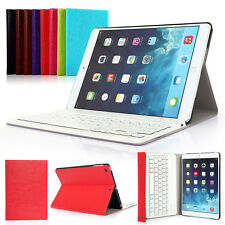 Leather Case Stand Cover + Wireless Bluetooth Keyboard For Apple iPad 4 3 2