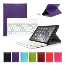 Leather Case Stand Cover + Wireless Bluetooth Keyboard For iPad 2 3 4 Air 2 mini