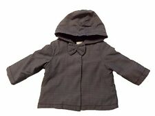 NWT Girl's Gymboree blue jacket hoodie top with hood ~ 0 3 6 12 18 24 months