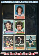 ☆ Topps 1977 Football Red Back Cards 1 to 50 (F) ***Pick The Cards You Need***
