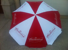 Budweiser Bowtie Beer - Large Style Beach Umbrella - New & Free Shipping