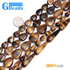 Natural Assorted Shapes Tiger's Eye Stone Beads For Jewelry Making Free Shipping