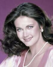 Lynda Carter 8x10 to 24x36 Photo Poster Canvas GICLEE PRINT by LANGDON HL2236