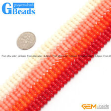 4x11mm Gemstone Coral DIY Jewelry Making Necklace Bracelet Loose Beads Strand15""