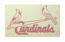 "St. Louis Cardinals  High Quality Vinyl Decal 7"" x 6"" (Multiple Colors)"