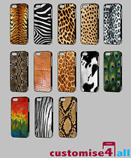 Animal Skin Animal Print Wildlife Zoo Cases to Fit the Apple iPhone Models